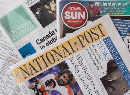 Postmedia Quebecor 20141006